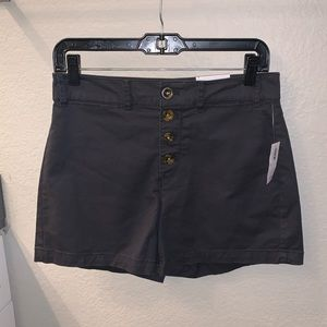 NWT charcoal Old Navy shorts size 4